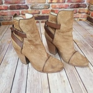Reg & Rone brown boots size 38/ 8